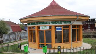Centrul de informare și promovare turistică Murfatlar. FOTO Adrian Boioglu