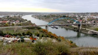 Canalul Dunăre - Marea Neagră și podul de la Murfatlar. FOTO Adrian Boioglu