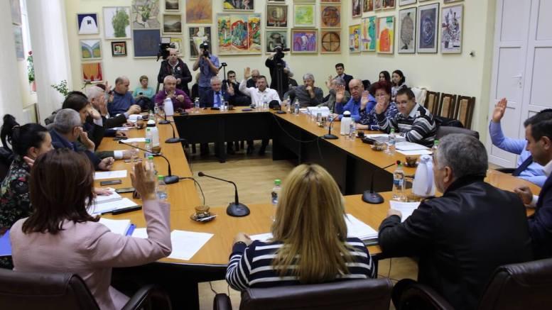 Vot în ședința de Consiliu Local Medgidia. FOTO Adrian Boioglu
