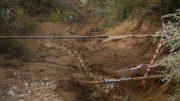 Alunecare de teren la Eforie