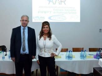 Corina Martin și David Ciceo. FOTO Ovidiu Oprea