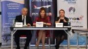 Prezidiul întâlnirii cu turoperatorii turci. FOTO Ovidiu Oprea