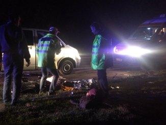 Victima a fost declarată decedată. FOTO Adrian Boioglu