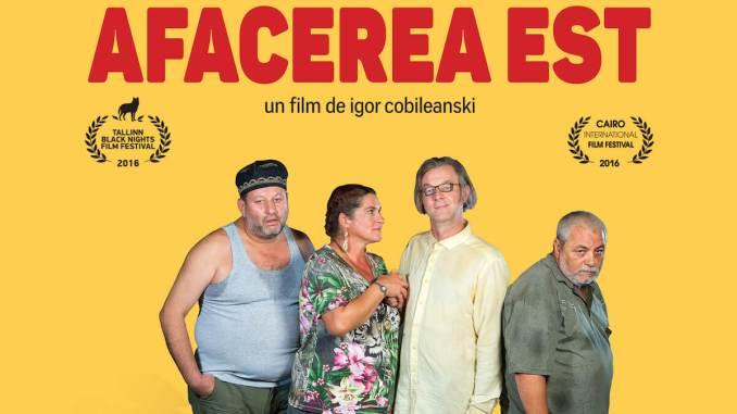 """Poster """"Afacerea Est"""""""
