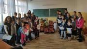 Elevii școlii din Tuzla