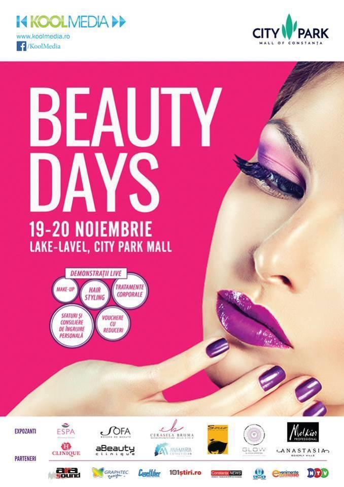 """Afiș """"Beauty Days"""""""