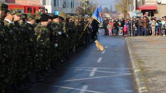 Militari la Medgidia. FOTO Adrian Boioglu