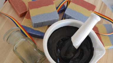 Fabricarea săpunului tricolor