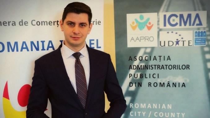 Bogdan Moșescu, City-Managerul municipiului Medgidia