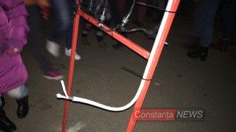 Cablurile electrice, pericol pentru cei mici. FOTO Adrian Boioglu