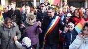 Valentin Vrabie s-a prins în Hora Unirii. FOTO Adrian Boioglu