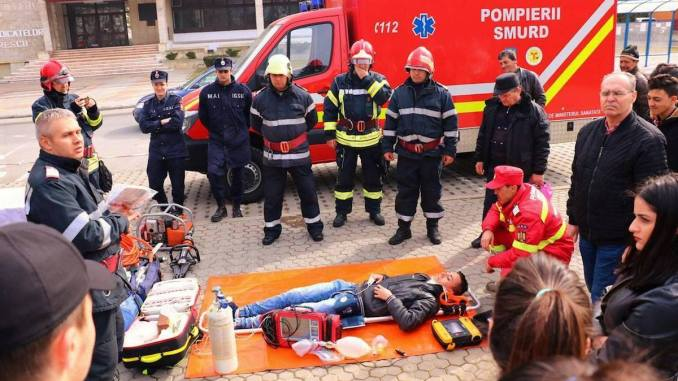 Ziua Protecției Civile la Medgidia. FOTO Primăria Medgidia