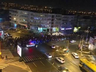 Protest la Constanța împotriva Guvernului Grindeanu