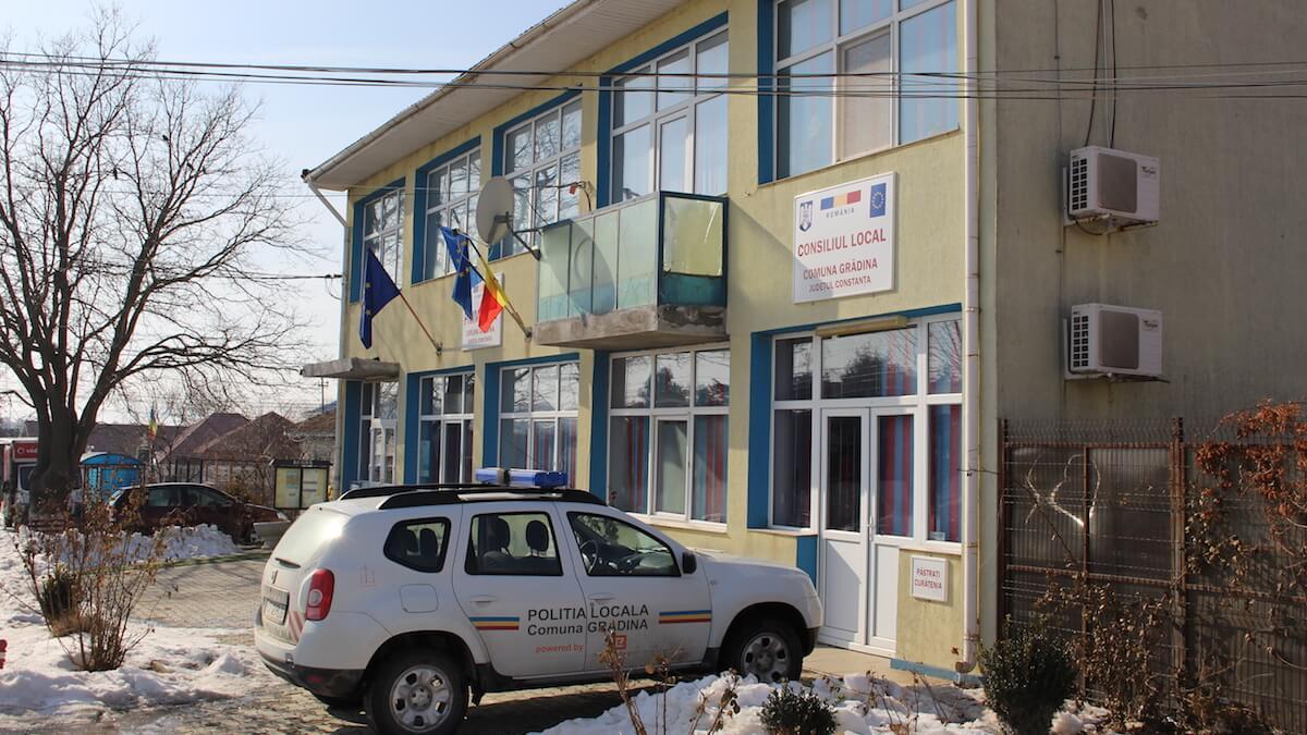 Primăria Grădina, județul Constanța. FOTO Adrian Boioglu