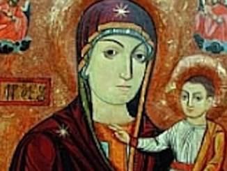 Icoana de la Mănăstirea Nicula