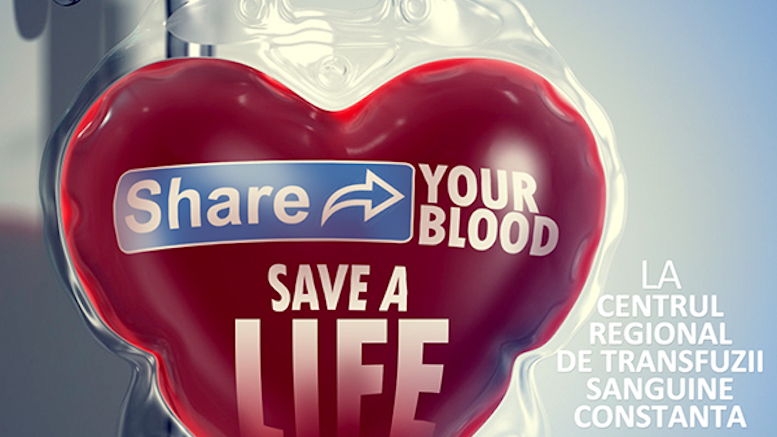 Share your blood, save a life