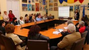 Dezbatere publică la Medgidia. FOTO Alexandru Bran