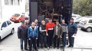 Voluntarii din Constanța au donat mobilier pentru biblioteci. FOTO CRC