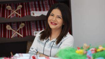 Roxana Zaharia, moldoveanca de la Măcelăria Moldovencei. FOTO Adrian Boioglu