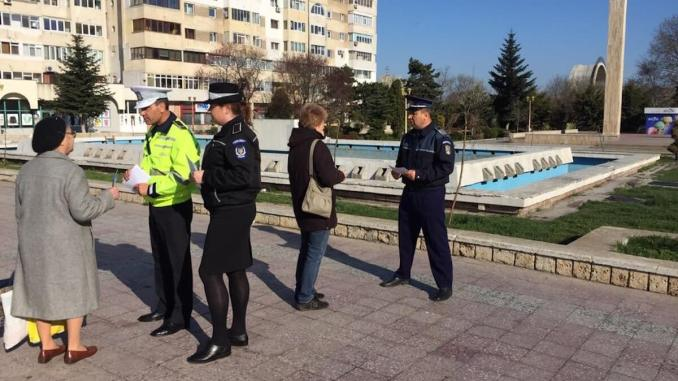 Saptamana prevenirii criminalitatii la Constanta lansata de Politia Romana