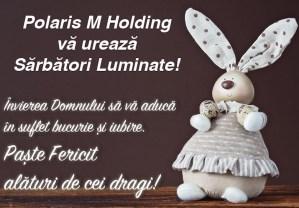 Felicitare de Paște - Polaris M Holding
