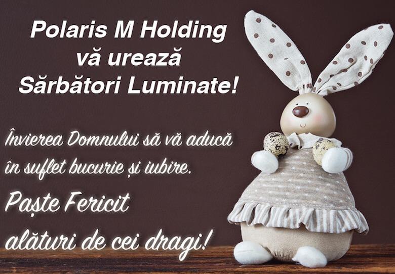 Felicitare de Paște – Polaris M Holding