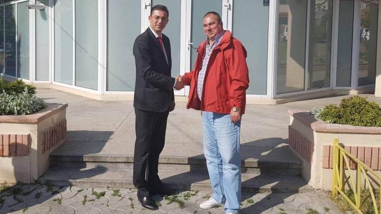 Nicolar Ciocănete, candidatul PSD la postul de primar pentru Nicolae Bălcescu