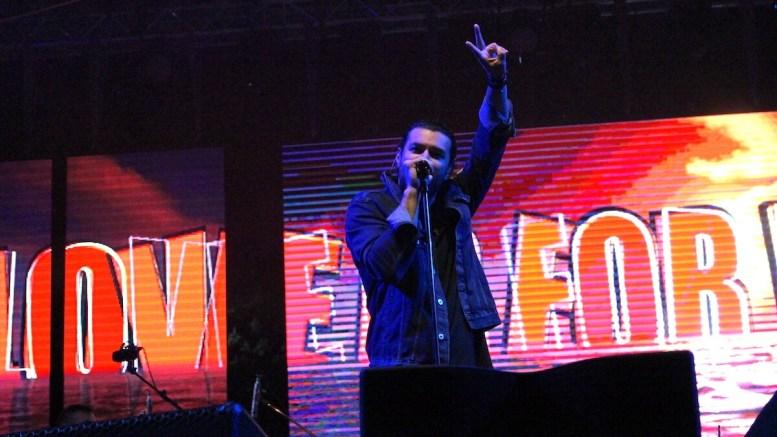 Smiley pe scena Festivalului Dapyx Medgidia. FOTO Adrian Boioglu