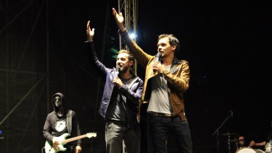 Răzvan și Dani la Festivalul DAPYX Medgidia. FOTO Adrian Boioglu