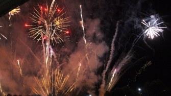 Artificii la Festivalul DAPYX Medgidia. FOTO Adrian Boioglu