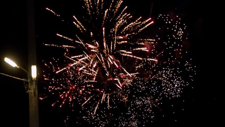 Foc de artificii la Mircea Vodă