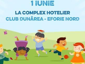 Afis Eveniment 1 iunie organizat de Asociatia United Hands Romania