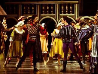 """""""Romeo si Julieta"""" la Teatrul National de Opera si Balet """"Oleg Danovski"""". FOTO: Adrian Mergian"""
