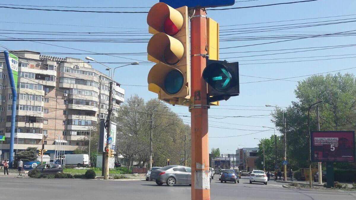 Semafor în Constanța