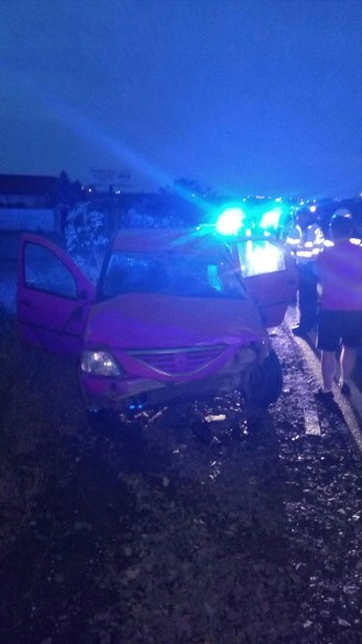 Accident FOTO ISU DOBROGEA