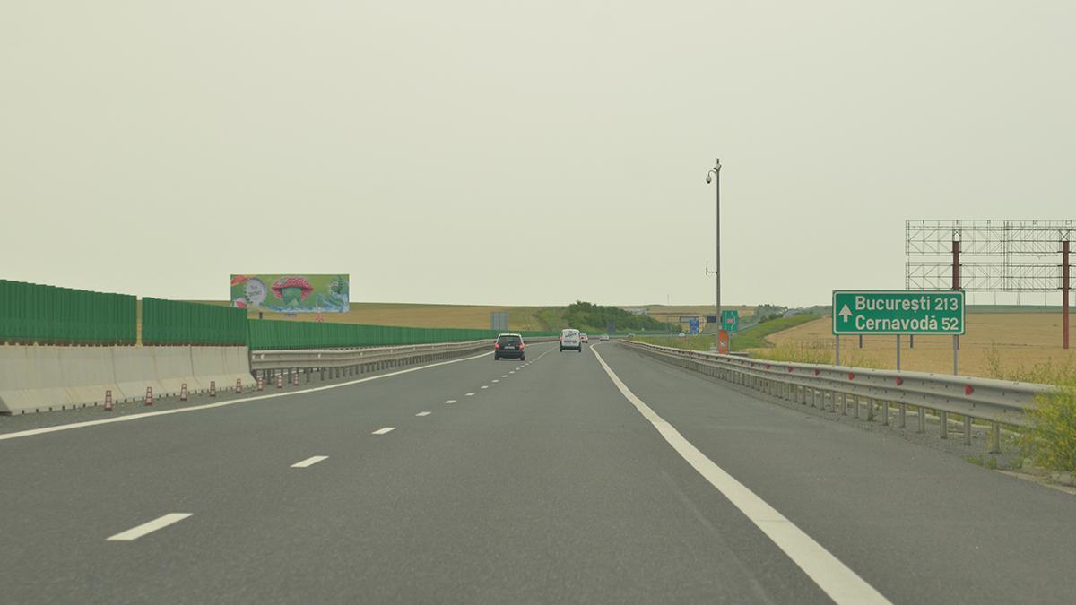 Autostrada Constanta Bucuresti trafic rutier