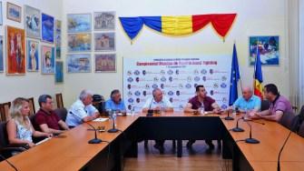 Delegatie profesori ai Universității din Çanakkale - Çanakkale Onsekiz Mart University si primarul municipiului Medgidia, Valentin Vrabie
