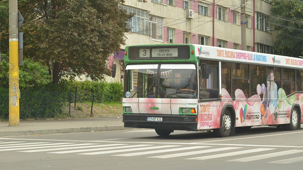 autobuz ratc in trafic