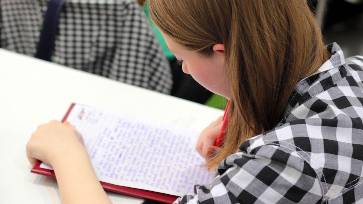 Gata de examen. FOTO Komsomolec