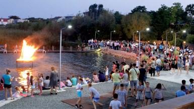 Seara de Folk la zilele orașului Ovidiu. FOTO Primăria Ovidiu