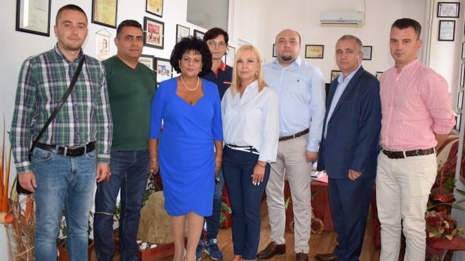 Participanții la Grupul de Acțiune Locală de la Cumpăna