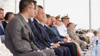 Oficialităti la Ziua Marinei 2017. FOTO Cătălin Schipor