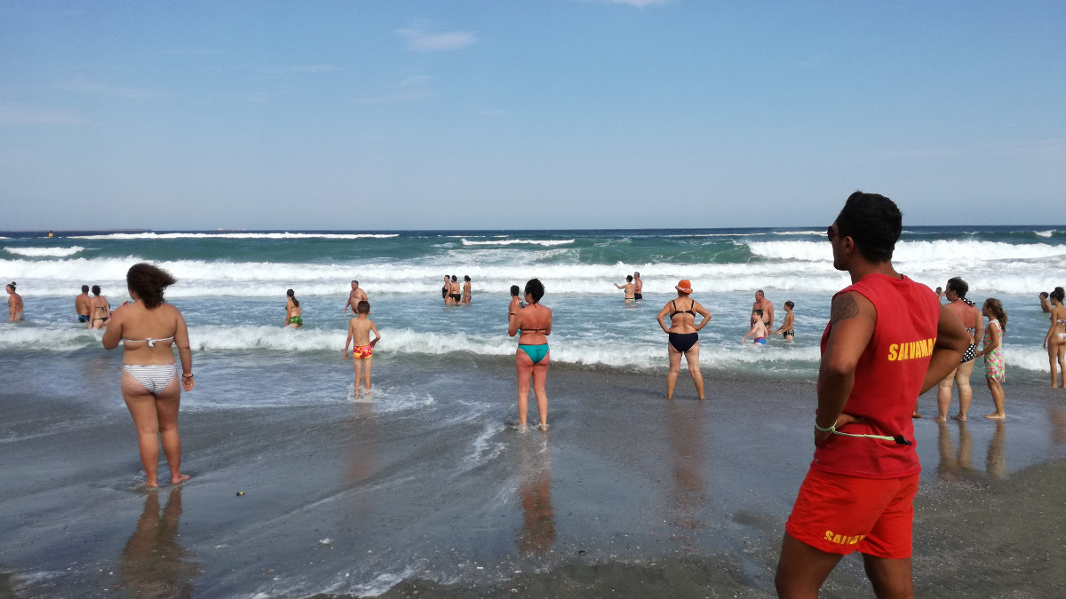 Salvamar pe plaja