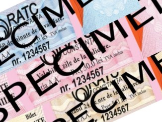 Noile bilete RATC