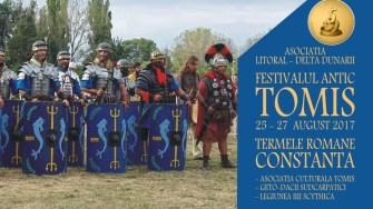 Afiș Festivalul Antic Tomis