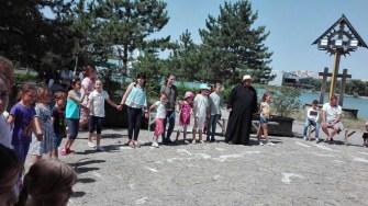 Scoala de vara biserica Sf. Mina a ajuns la final. FOTO Arhiepiscopia Tomisului