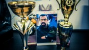 Steven Segal, păzit de agenții One Star Security Constanța. FOTO OSS