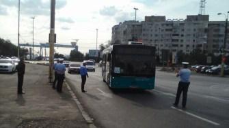 Politistii Locali au verificat autobuzele RATC