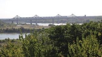 Podul Anghel Saligny din Cernavodă. FOTO Adrian Boioglu