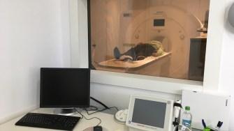 Noul echipament RMN de la Ovidius Clinical Hospital. FOTO CTnews.ro